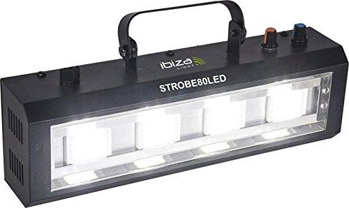 Ibiza Light & Sound STROBE80LED LED Strobe mit 4x 20W