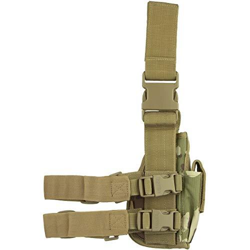 Viper TACTICAL - Funda de Pistola para Pierna - para Zurdos - V-CAM