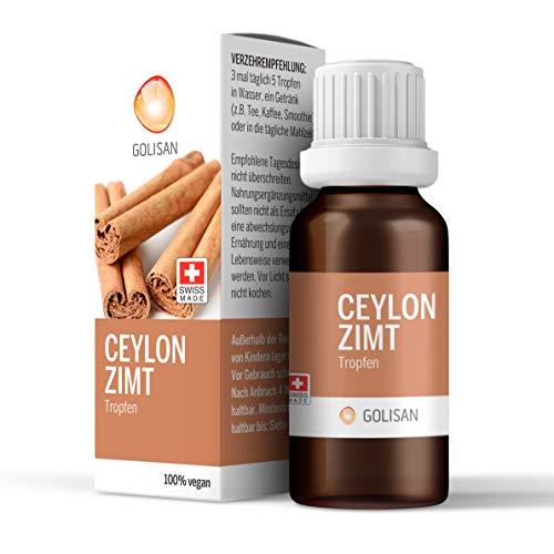 Golisan Premium Ceylon Zimt Extrakt -hochdosiert-15ml