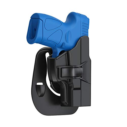 Taurus G2 G2C G3 G3C Holster, Tactical OWB Paddle Holster Also Fit Taurus Millennium G2C G3 G3C G2 PT111 PT132 PT138 PT140 PT145 PT745(Not Pro) with Trigger Release Adjustable Cant, Right-Handed