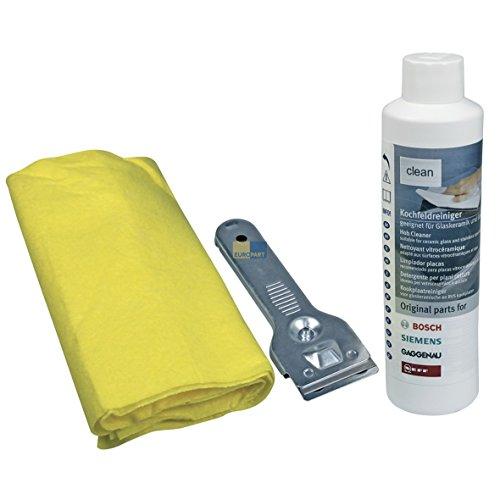 Bosch - Set para la limpieza de vitroceramicas