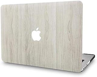 KECC MacBook Pro Retina 13 Pulgadas Funda Dura Case Cover Viejo MacBook Pro 13.3 Retina Ultra Delgado Plástico {A1502/A1425} (Madera de Pino 2)