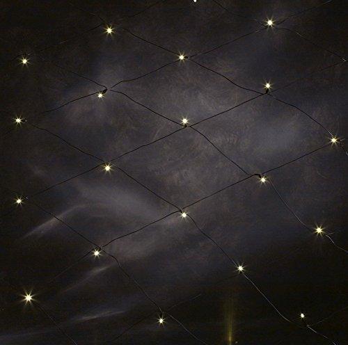 KONSTSMIDE 3753-100 Diodenlichternetz LED Diodenlichternetz 3,2m x 1,5m 160 flammig weiß Lichternetz