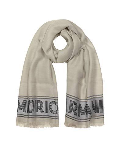 Luxury Fashion | Emporio Armani Dames 6352059A33916441 Grijs Viscose Sjaals | Herfst-winter 19