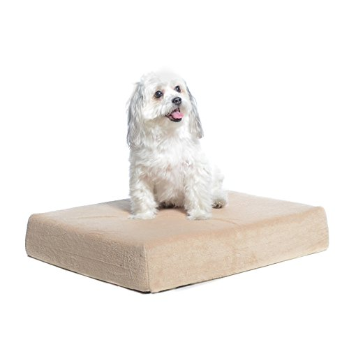 Milliard Premium Orthopedic Memory Foam Dog Bed with Removable Waterproof Washable Non-Slip Cover - Small - 24 inches x 18 inches x 4 inches