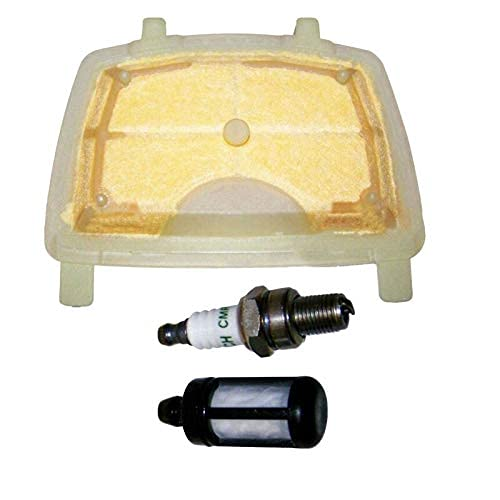 Pieza de repuesto para MC resistente y kit de reparación de bujías de filtro de combustible de aire para motosierra Stihl MS171 MS181 MS211