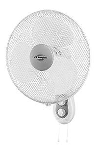 Orbegozo WF 0139 Ventilador de pared, 45 W, Color Blanco