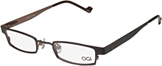 Ogi 2229 Mens/Womens Designer Full-rim Spring Hinges Avant-garde Design Must Have Optical Eyeglasses/Eyewear