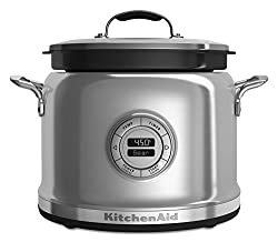 Stock shot of a KitchenAid stainless steel Multi-Cooker
