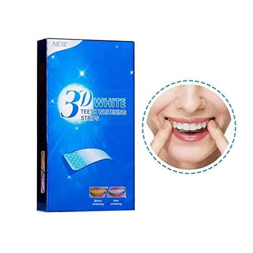 ゲストクレスト歯大手歯ステッカー持ち運びが簡単(ボックスごとの14セット)3Dホワイトチキン、子供、大人 (Size : 5 BOXES(70PCS))