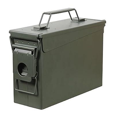 Fortress 30 Caliber Metal Ammo Can, 30 Cal