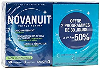 Novanuit Triple Action Lot de 2 x 30 Gélules