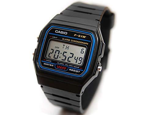 Casio watches CASIO F91W-1 Casual Sport Watch