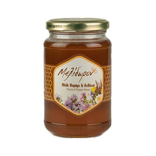 Melidoron Miel de Tomillo y de Flores   - Griega 450 g