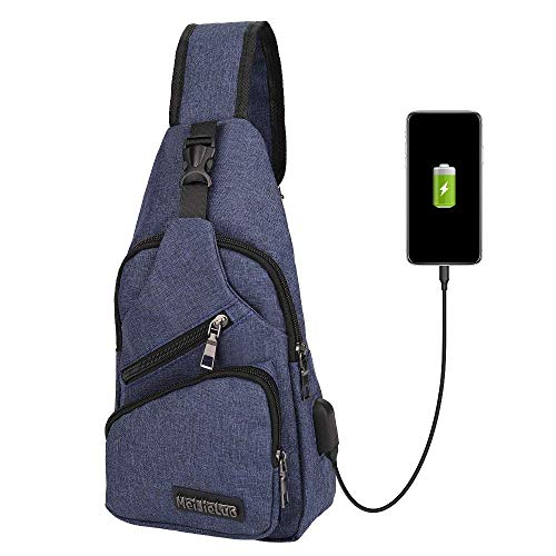 Sling Schulter Rucksäcke Chest Pack Tasche Einzel Strap Umhängetasche Daypack für Mann-Frauen-Mädchen-Jungen
