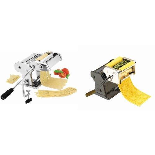 Ibili - Máquina para pasta fresca, 21,4 x 17,8 x 14 cm...