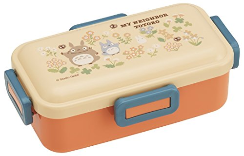 Officially-Licensed My Neighbor Totoro Lunch Box Studio Ghibli Bento Box / Flower Design