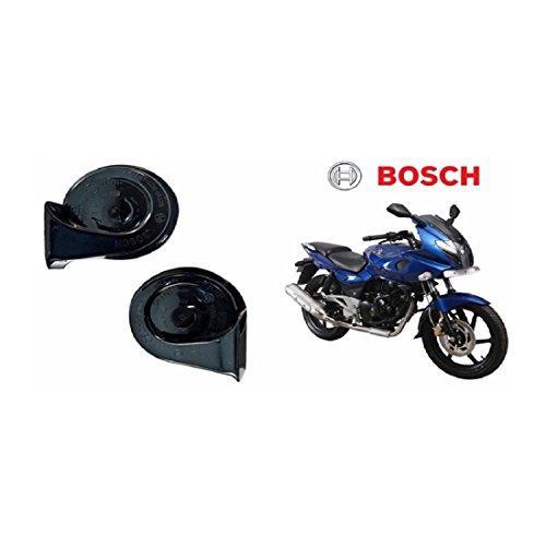 Bharat Motor Bosch Bike Symphony Fanfare Horn 028 Bajaj Pulsar 220 DTS-i -Set of 2