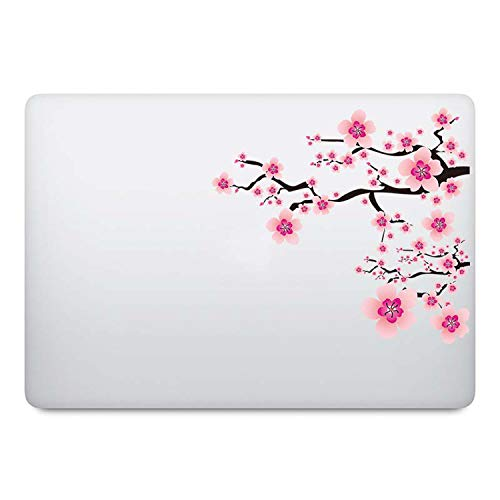 Pink Sakura Flower Laptop Sticker for Macbook Decal Pro Air Retina 11 12 13 14 15 inch HP Mac Book Mi Notebook iPad Skin Sticker-For iPad mini-