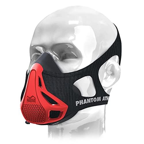Phantom Athletics Erwachsene Training Mask Trainingsmaske - Rot