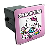 Graphics and More Hello Kitty Snack Time Tow Trailer Hitch Cover Plug Insert