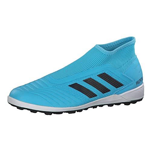 adidas Performance Predator 19.3 Indoor Fußballschuh Herren hellblau/schwarz, 9 UK - 43 1/3 EU - 9.5 US