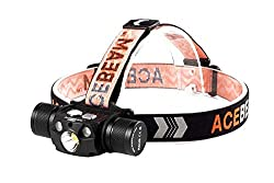 One of the very brightest headlamps you can buy is the 4,000-lumen AceBeam H30 headlamp.