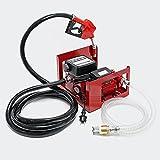 Bomba autocebante para Bio Diesel y gasóleo 230V/600W 40l/min con Pistola Maquinaria Calefacción