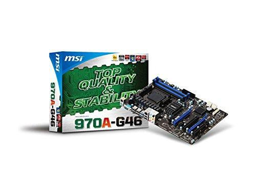 MSI 970A-G46 - Placa Base (Phenom II/Athlon II/Sempron, Socket 942 (AM3+), ATX)