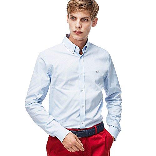 Lacoste mannen Ch8766-00 met lange mouwen Casual Shirt