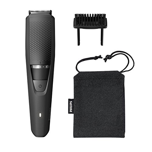 Philips Multigroom - Pack con recortador de barba serie 3000 y funda de viaje, sistema Lift & Trim, 20 posiciones