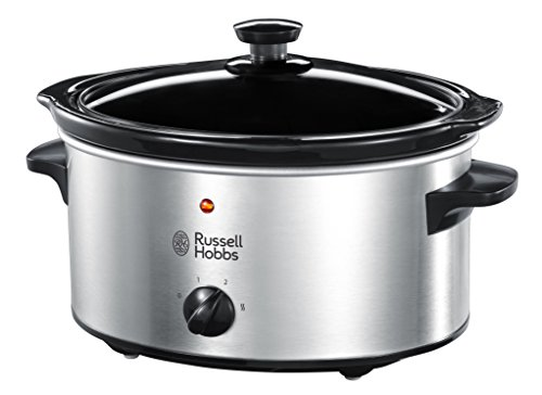 Russell Hobbs Slow Cooker 23200, 3.5L - Stainless Steel