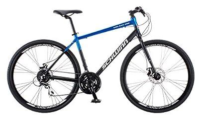Schwinn Volare 1500 Mens Hybrid Sport Bike, 28-Inch Wheels, 18.5-Inch Aluminum Frame, Blue/Black
