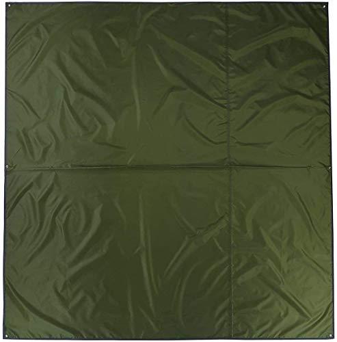 Naturehike 2-3 Personen Camping Multifunktionale Sun Shelter Leichte Winddicht Zelt Bodenbelag Matte für Wandern Reisen Garten(grün,3-4 Personen)