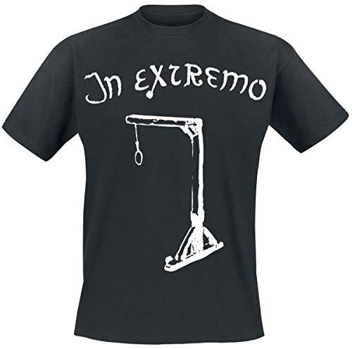 In Extremo Galgen Männer T-Shirt schwarz M 100% Baumwolle Band-Merch, Bands, Nachhaltigkeit