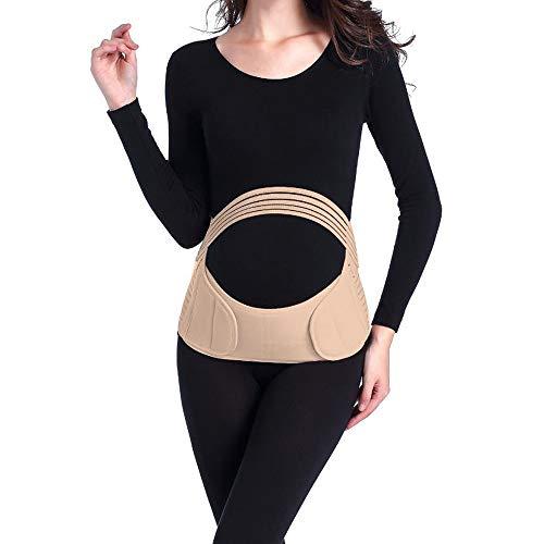 Maternity Band for Pregnancy, Pregnancy Belt - Maternity Belt for Back Pain, with Adjustable/Breathable Material. Back Support Belly Band for Pregnant Women