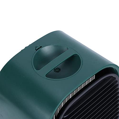 Mini condizionatore d'aria Mini ventola di raffreddamento Condizionatore d'aria portatile Raffreddatore d'aria per la casa per l'ufficio per la famiglia(Moran Green)