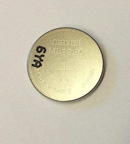 Maxell ML1220 1220 einzelner Lithium wiederaufladbar Knopfzellen Batterie 3V JAPAN