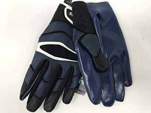 Cutters Gloves C-TACK Revolution Football Gloves (Royal, Small)