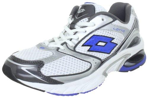 Lotto Sport REARCH Gemini N8321, Herren Sportschuhe - Running, Weiss (White/Blue), EU 40.5 (US 8)