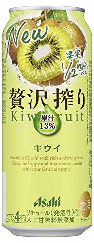 アサヒ 贅沢搾り キウイ 缶 500ml×24本 [ チューハイ ]