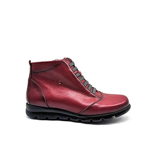 Botines Fluchos F0356 Picota para Mujer 37 Rojo