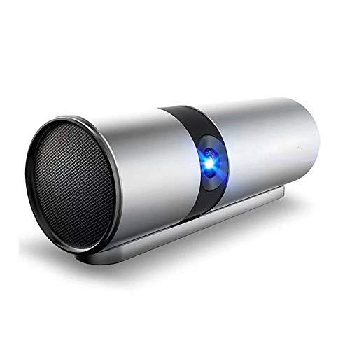 JNWEIYU JNWEIYU - Proyector inalámbrico portátil para oficina, hogar, pared, dormitorio, estudiante, exterior, altavoz Bluetooth