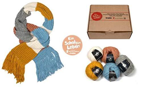 Brigitte Charity Paket 2020 - Ein Schal fürs Leben
