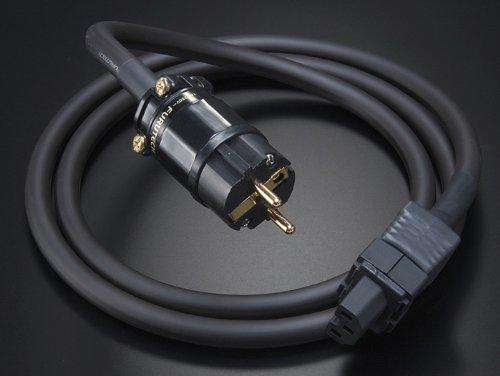 Furutech Netzkabel G-314Ag-18 | Stecker (Geräteseite): Heißgerätebuchse | Stecker (Wandseitig): Schukostecker (vergoldete Kontakte)