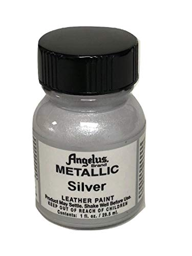 Angelus Acrylic Leather Paint-1oz.-Silver
