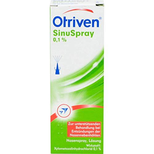 Otriven SinuSpray Nasenspray bei Entzündungen der Nasennebenhöhlen, 10 ml Lösung