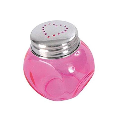 Chal - Mini bonbonnière coeur fuschia Lot de 4