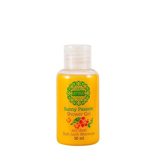 1x UMIDO Duschgel 50 ml Maracuja | Waschgel für Körper, Gesicht und Haare | sanfte Pflegedusche | Körperpflege (4-KPF)