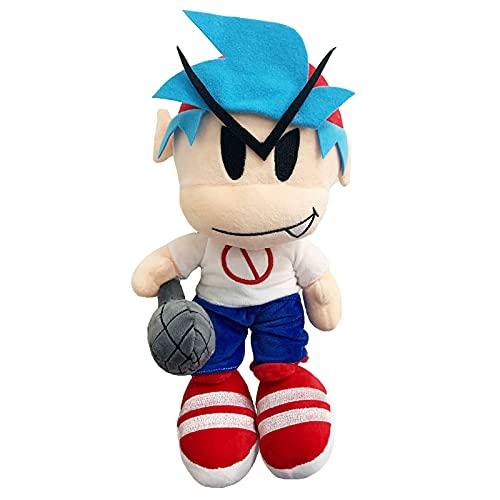 FNF Boyfriend Plush, 25cm Friday Night funkin Boyfriend Plush Toy Soft Stuffed Doll